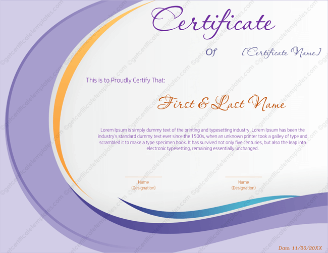 Award certificate templates editable printable in word award certificate template 146 yadclub Choice Image