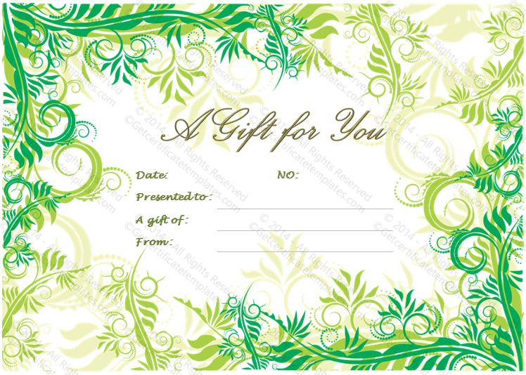 Gift certificate template abbsshare gift certificate template yelopaper Gallery