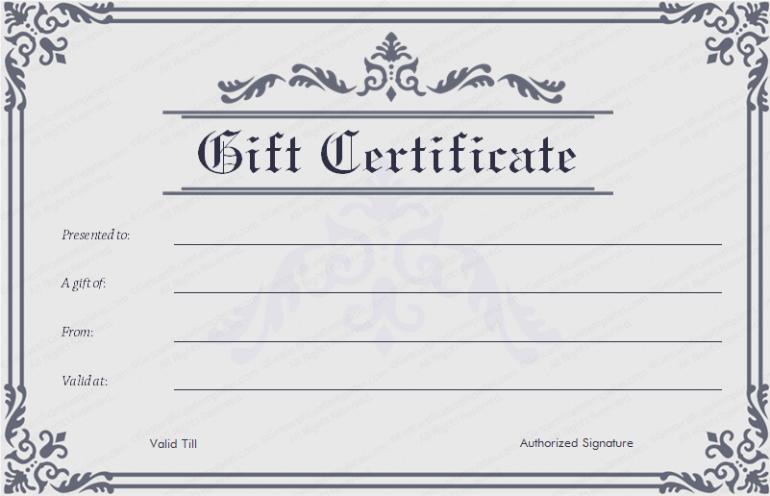 Certificate Template Amazoncom