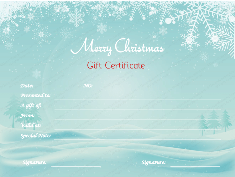Openoffice Gift Certificate Template Choice Image Template Design