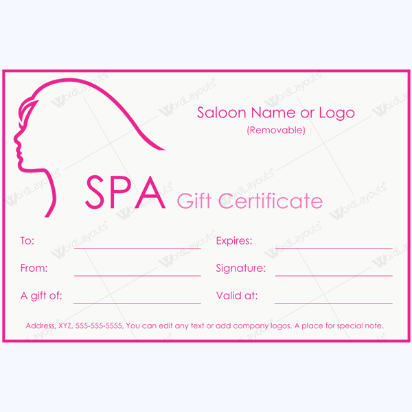 Create Gift Certificate In Word Minimfagencyco - Create gift certificate template