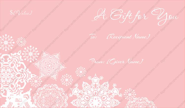 Gift Certificate Templates Certificate Templates – Santa Gift Certificate Template