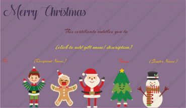 Christmas Smiles Gift Template