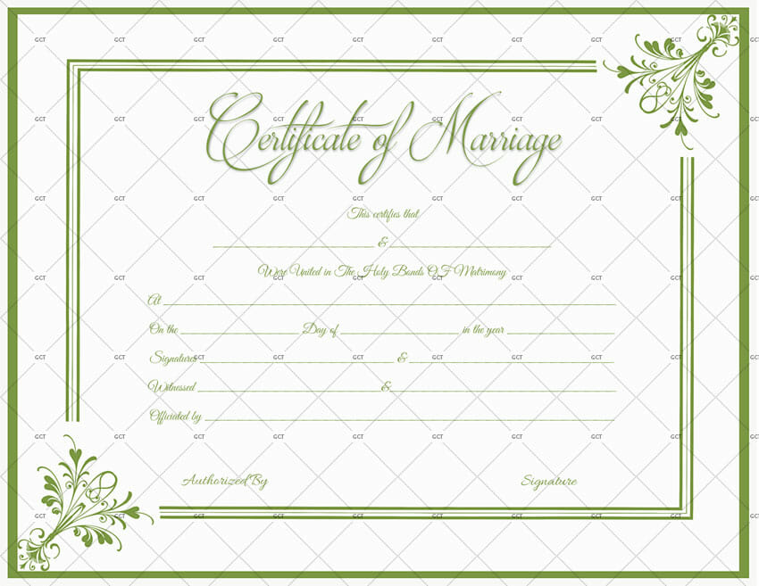 marriage certificate license templates microsoft office get