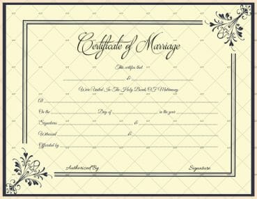 Free printable marriage certificate templates editable printable marriage certificatelicense templates microsoft office yelopaper Choice Image