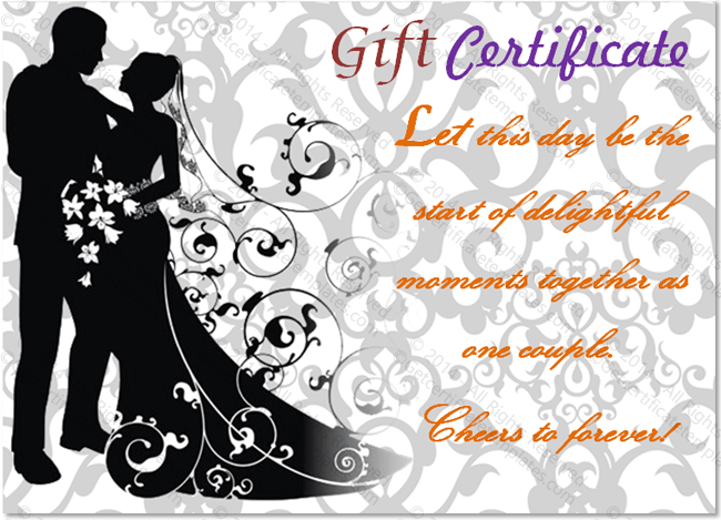 Christmas Gift For Newly Married Couple