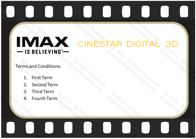 go to movie gift certificate template
