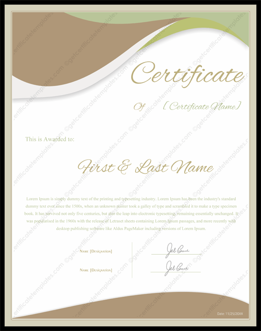 Portrait-Award-Certificate-Template