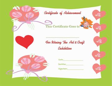 Talented Award Certificate Template