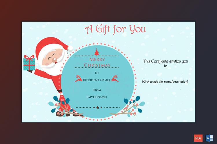 Christmas Gift Sample