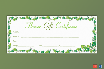 Sample of Gift Voucher