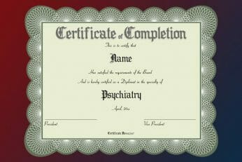 Medical Award Certificate Template