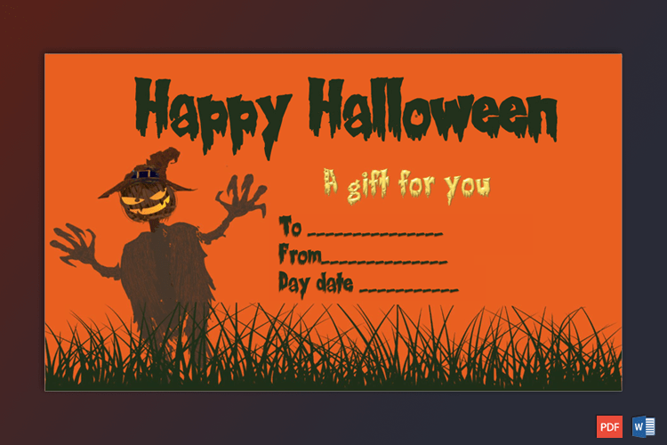Halloween Costume Sample