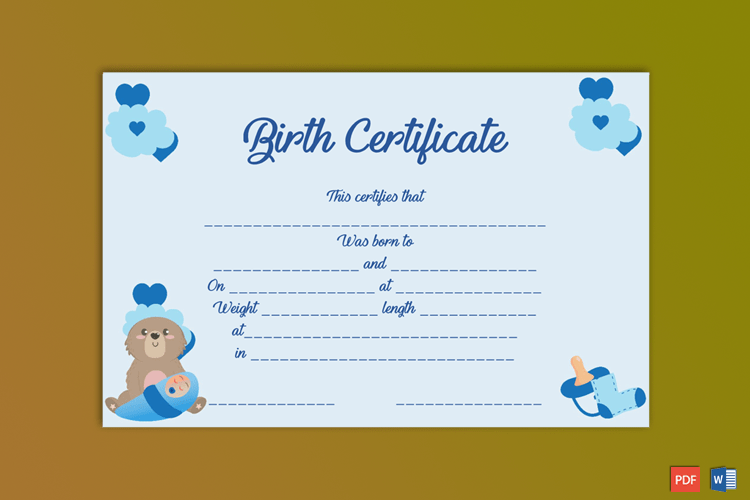 Union Council Birth Certificate Fee 2018