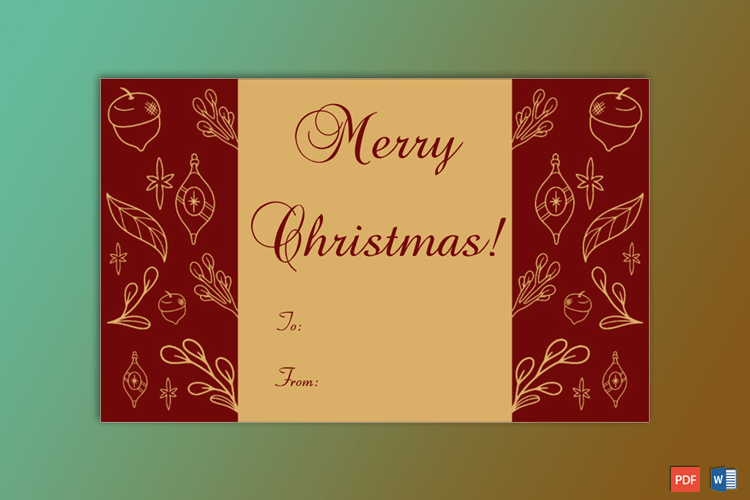 Christmas-Gift-Tag-Template-Maroon-2