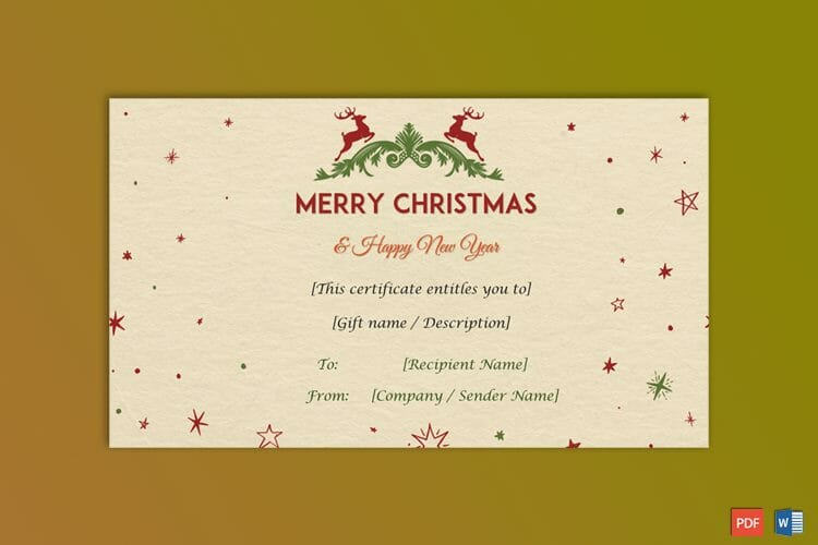Christmas-Gift-Certificate-(Camel-Texture)-2