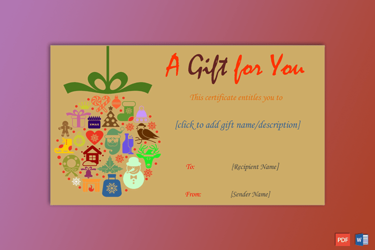 Christmas-Gift-Certificate-Template-Brown-Themed-Preview
