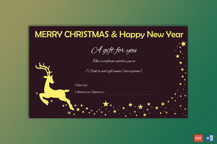 Christmas-and-New-Year-Gift-Certificate-Template-(Reindeer-Design)