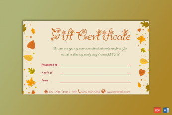 Gift-Certificate-Brown-Themed-PR