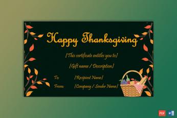 Thanksgiving-Gift-Certificate-Template-(Picnic,-#5606)-pr