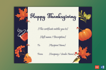Thanksgiving-Gift-Certificate-Template-(Squirell,-#5623)-PR
