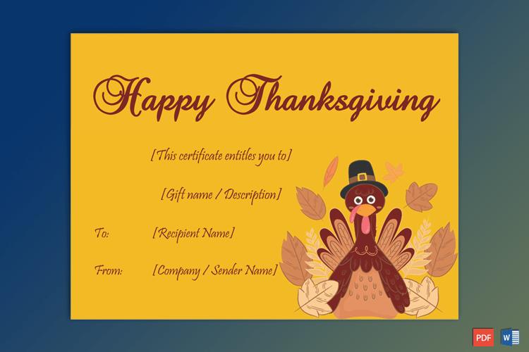 Thanksgiving-Gift-Certificate-Template-(Yellow,-#5612)-PR