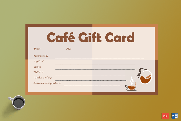 Cafe-Gift-Certificate