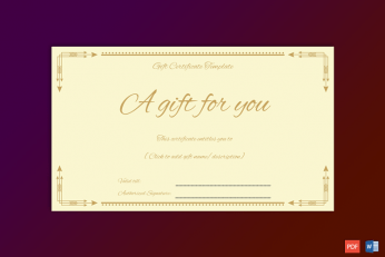 Formal-Gift-Certificate