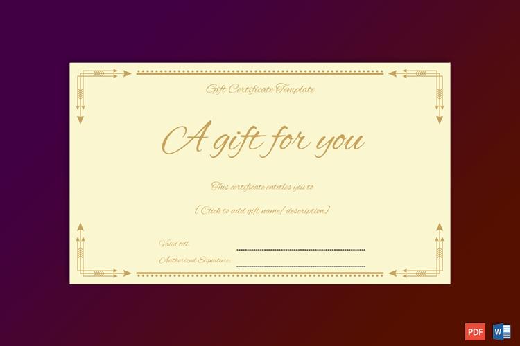Formal-Gift-Certificate