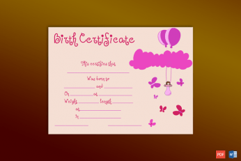Birth-Certificate-Template-(Butterflies,-#4362)-pr