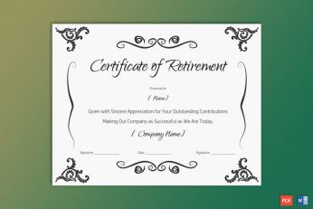 Certificate-of-Retirement